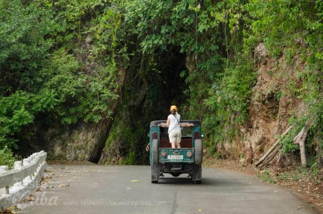 The German´s tunnel / El Paso de los Alemanes.