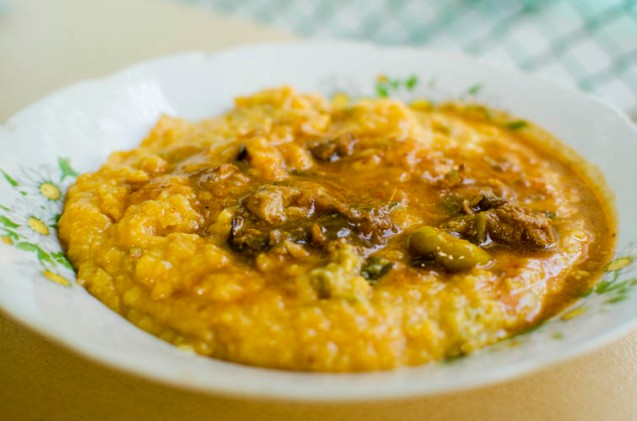 tamale casserole / tamal en cazuela
