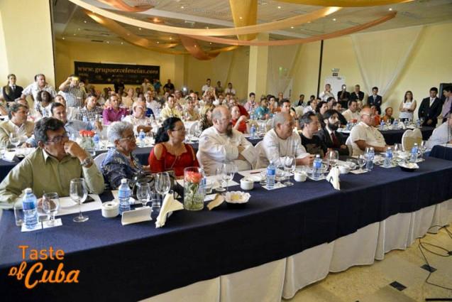 V Seminario Gastronómico Internacional, Grupo Excelencias, La Habana, 2015