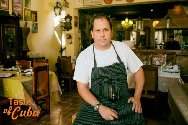 Chef Iván Rodríguez / Foto: Alain L. Gutiérrez Almeida