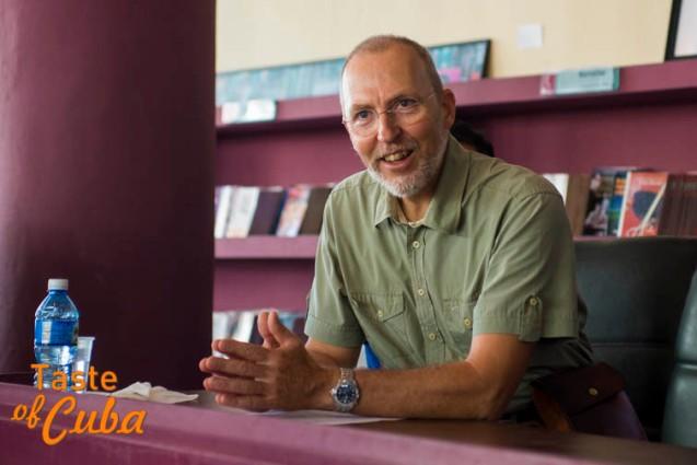 señor Theodor Friedrich, Representante en Cuba de la Organización de las Naciones Unidas para la Alimentación y la Agricultura (FAO)