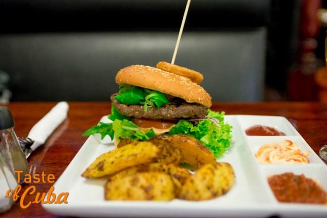 Castro hamburguesa con queso